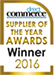 supplier of the year winner 2016