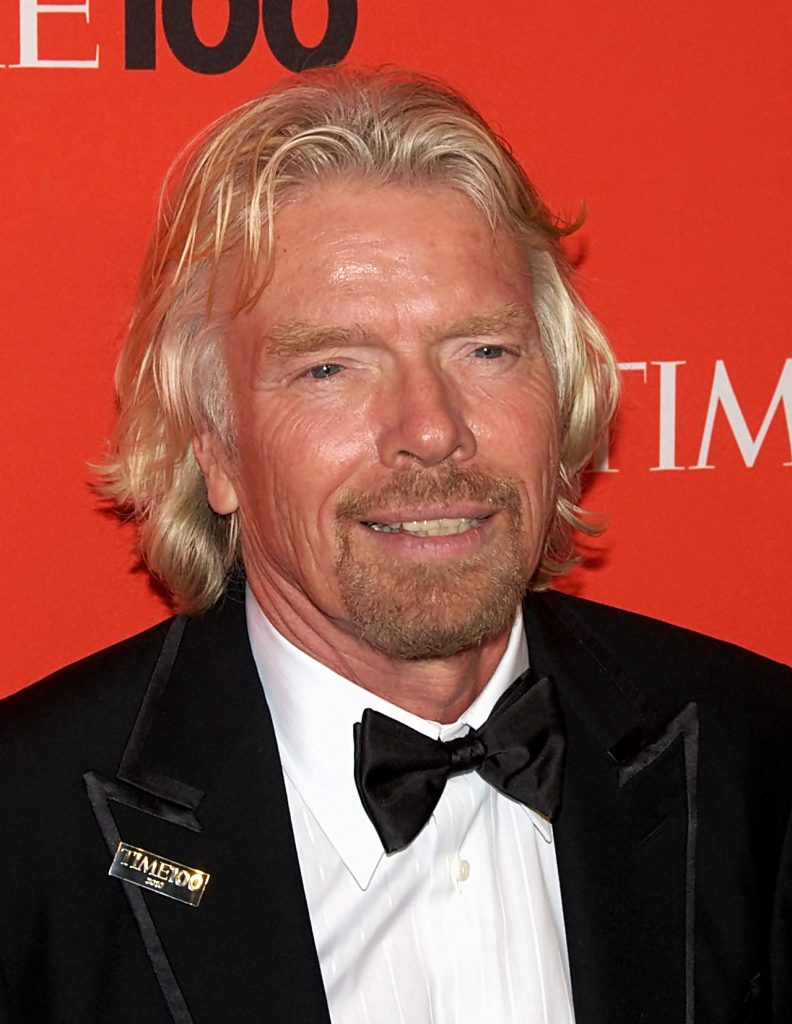 successful business stories Richard Branson