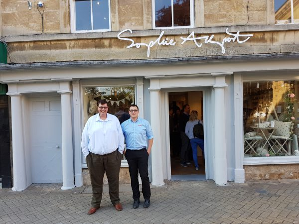 The team at the sophie allport store opening