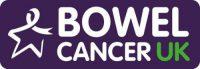 Bowel Cancer UK logo Blubolt