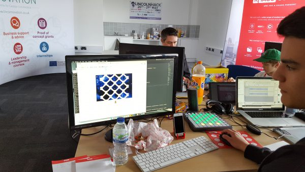 Adventure game at Lincoln Hack 2017